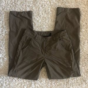 Mammut Mens Pants Brown WB Schoeller Size 6